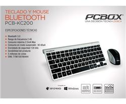 Teclado Y Mouse Combo PCBOX Pcb-kc200 Bluetooth 3.0 Android/ios/wi