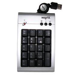 Teclado USB Numerico Retractil con 3 Teclas Multimedia NISUTA NS-KB10N