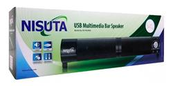 Parlante Tipo Barra USB Multimedia Bar Speaker NS-PAU6BA
