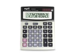 Calculadora digital Nisuta NSCALC2 12 digitos a pilas o energia solar Nisuta
