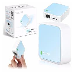 Router Nano Repetidor WiFI Tp Link TL-WR802N 300 Mbps