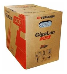 Cable Furukawa UTP Cat6 Gigalan 305MTS INTERIOR  Gris