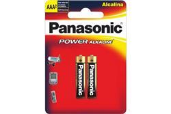 Pila PANASONIC AAA (Blister X 2 Unidad)