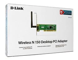 Placa De Red Wifi Pci D-link Dwa-525 1 Antena