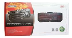Teclado GAMING Dragon Luminoso USB GTC KGG-002