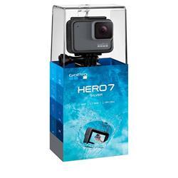GoPro Camara Hero 7 Silver 4k 10mp Sumergible