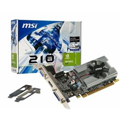 Placa de Video MSI GeForce G210 DDR3 1GB