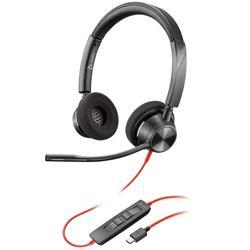 Auricular Poly Blackwire BW3325 USB Biaural