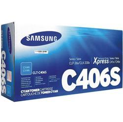 CLT-C406S #406 Cyan TONER ORIGINAL SAMSUNG