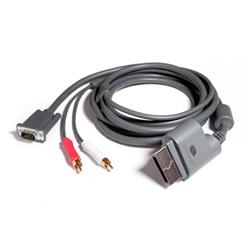 Cable Xbox 360 Vga 1080p + Audio Optica Digital + 2 Rca Htec