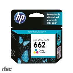 CARTUCHO HP Tricolor (CZ104AL #662)