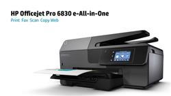 Impresora HP Multifuncion Officejet Pro 6830 (P/N: