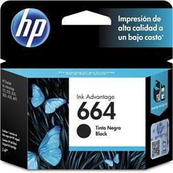 CARTUCHO HP Negro (F6V29AL #664)