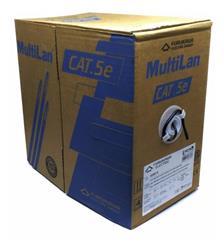 Bobina Cable Furukawa UTP CAT.5E  305MTS EXTERIOR Negro (23200110)