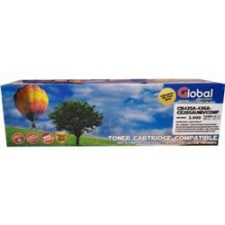 TONER GLOBAL Alternativo (CB435A-436A-CE285A) Negro
