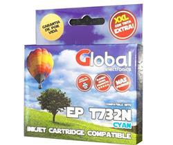 Cartucho Alternativo GLOBAL P/Epson T732N Cyan