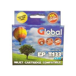 Cartucho Alternativo GLOBAL P/Epson T133 Cyan