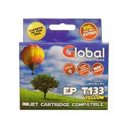Cartucho Alternativo GLOBAL P/Epson  T133 Amarillo
