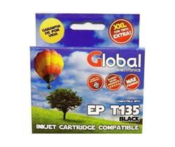 Cartucho Alternativo GLOBAL P/Epson T135 Negro
