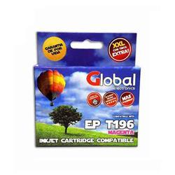 Cartucho Alternativo GLOBAL P/Epson T195 196 Magenta