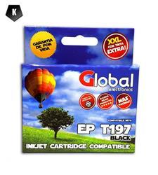 Cartucho Alternativo GLOBAL P/Epson T195 197 Negro