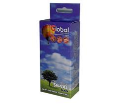 Cartucho Alternativo GLOBAL P/HP CN684WN 564XL Negro
