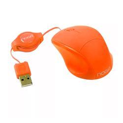 Mouse Rectráctil Noga NGM-418NJ Mini Naranja