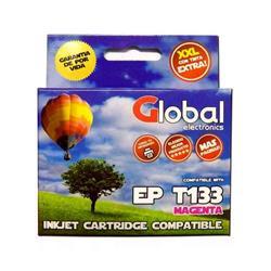 Cartucho Alternativo GLOBAL P/Epson T133 Magenta
