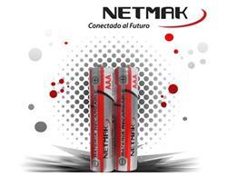 PILAS RECARGABLES NETMAK NM-AAA110 AAA 1100MAH X2