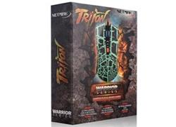 GAME MOUSE RETROILUMINADO 2400DPI GREEN NM-TRITON-G
