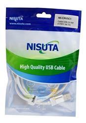 Cable USB C de 1m de 2.4A (NS-CAUSC1)