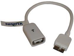 Cable micro USB 3.0 con funcion OTG Nisuta