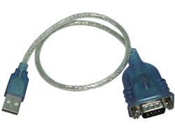 Conversor Nisuta USB a Serie RS232 conector DB9 macho  NSCOUSSE2