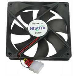 Fan Cooler  120mm Para Gabinete Pc Nisuta (NS-FAN120)