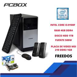PC ARMADA (CORE i3 Kabylake /4GB RAM/1TB/DVD/FreeDos) Con Perifericos