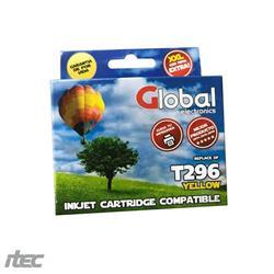 Cartucho Alternativo GLOBAL P/Epson T296Y Amarillo